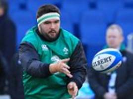 Ireland prop Marty Moore determined to keep cool in scrum battle for pivotal Six Nations contest with title rivals England